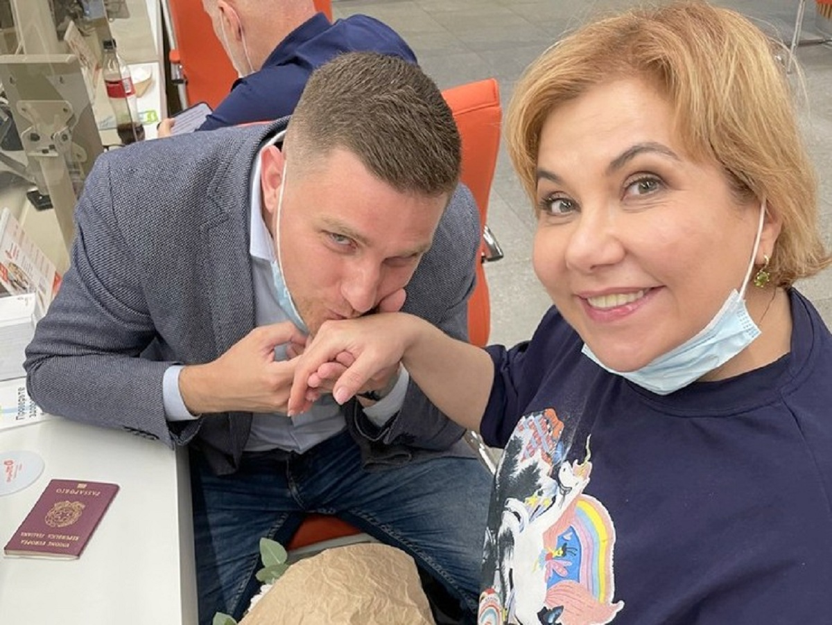«Почувствовала себя девочкой»: 49-летняя Марина Федункив вышла замуж за молодого итальянца