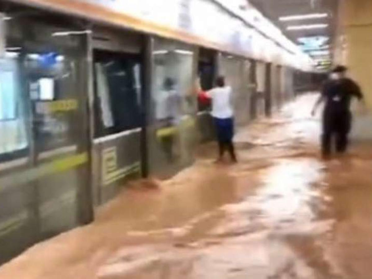 Наводнение Китай