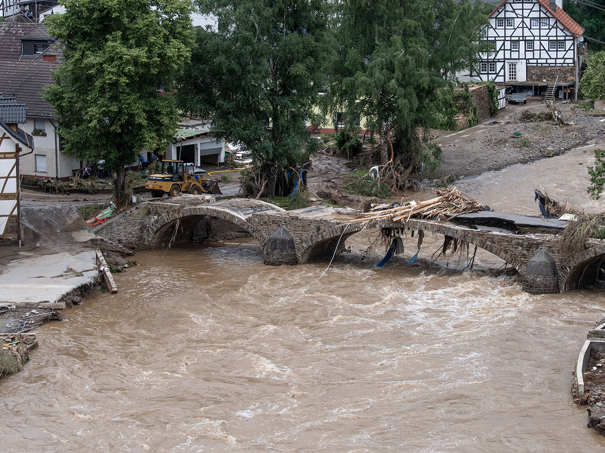 Наводнение в Германии