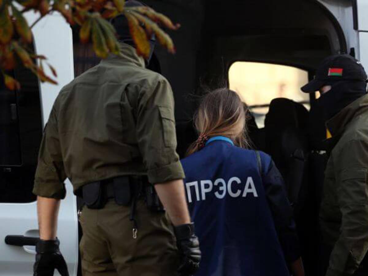 Обыски у журналистов в Белоруссии