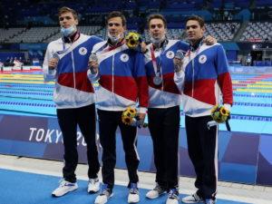 Серебряные медали пловцов на Олимпиаде в Токио