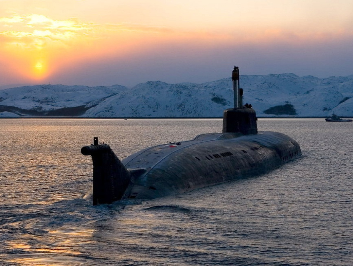 Российская подлодка «Орел» поразила жителей Дании своими размерами