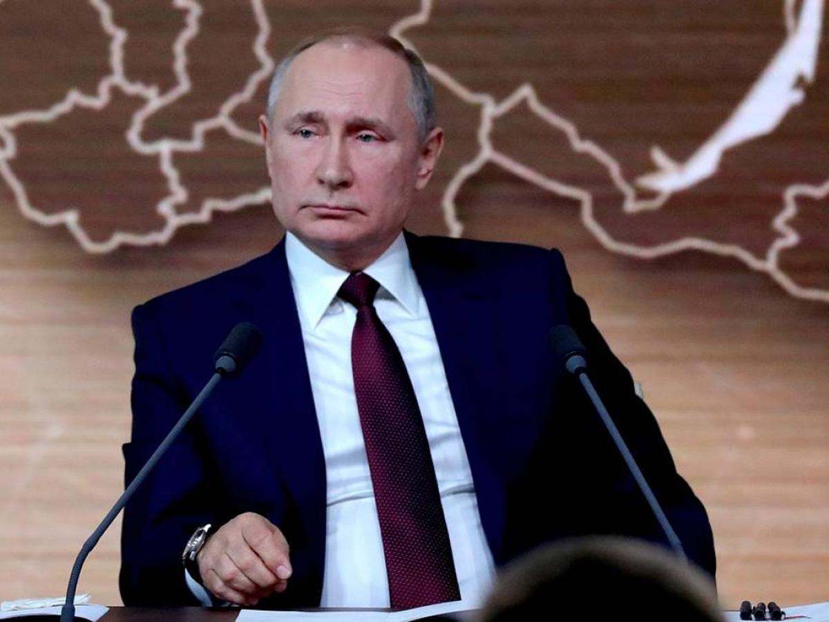 Путин о статье об Украине