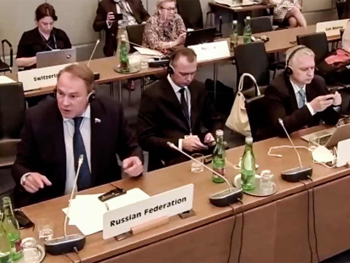 Россия ушла с заседания ПА ОБСЕ