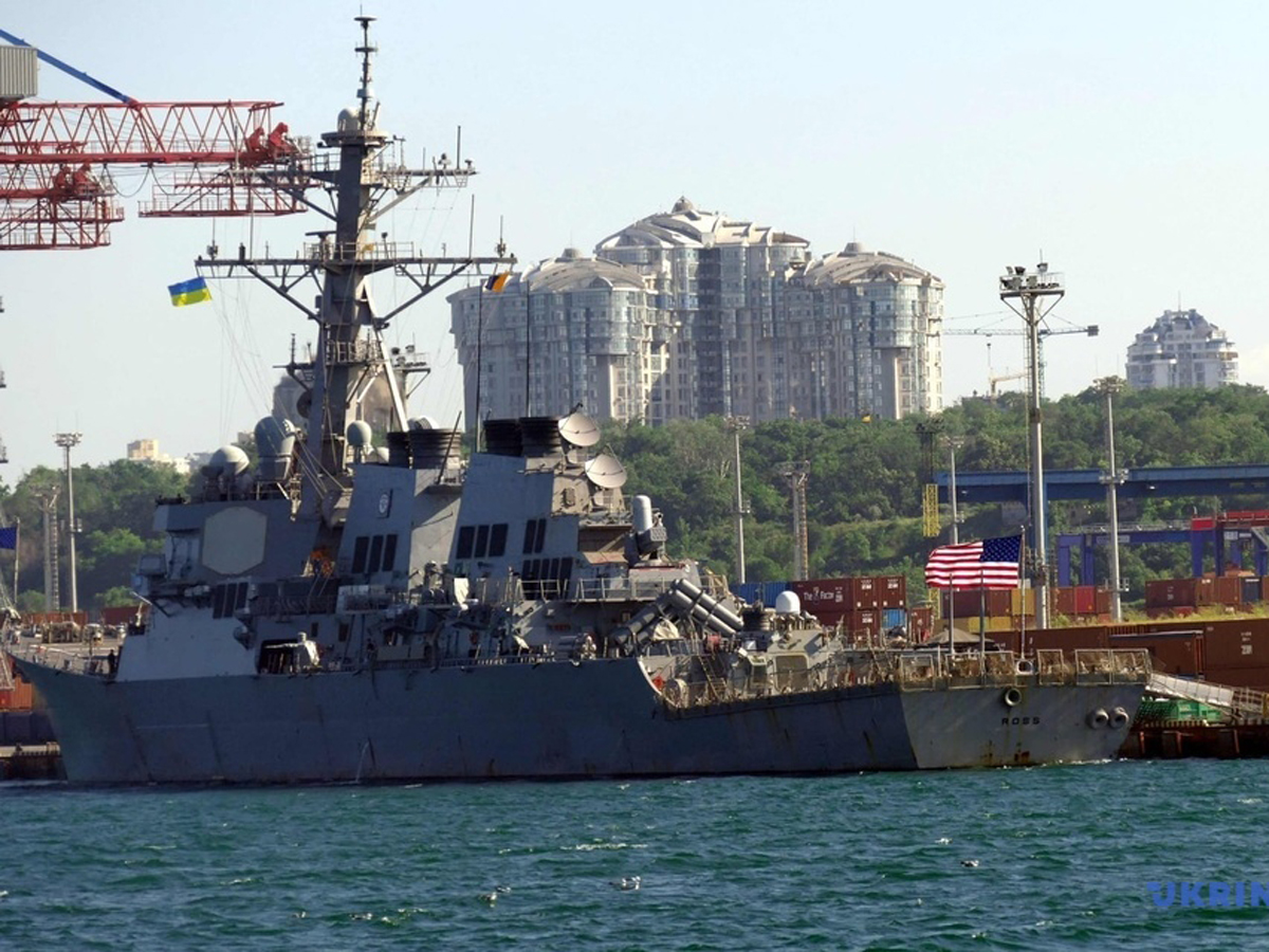 США РФ эсминец RossКрым