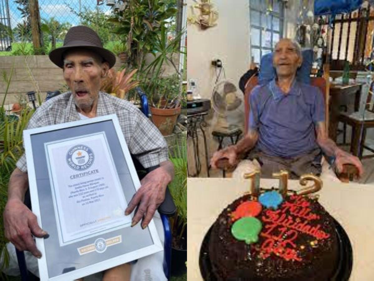 Самый старый в мире мужчина раскрыл секрет долголетия