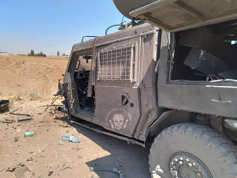 Бронеавтомобиль РФ уничтожили в Сирии