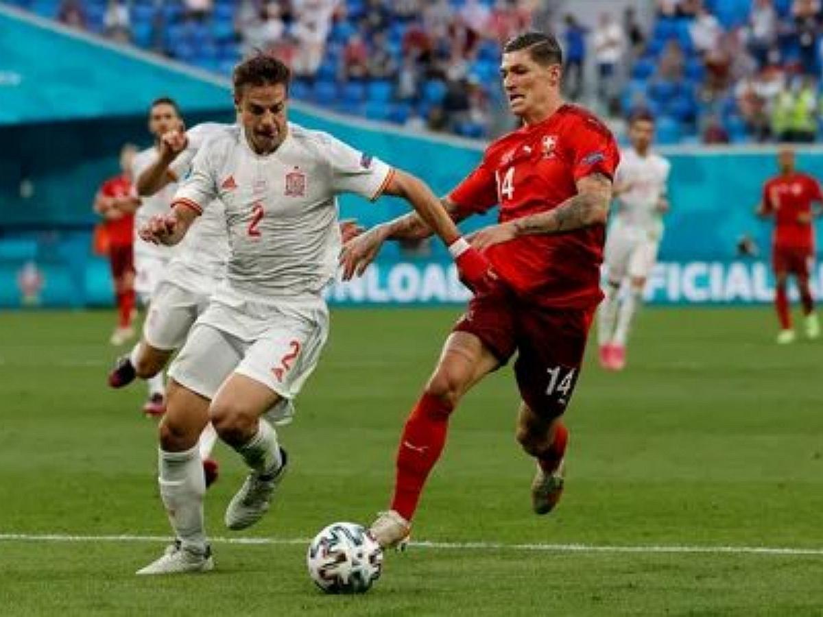 Сборная Испании стала первым полуфиналистов Евро-2020, обыграв Швейцарию