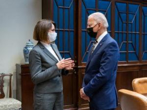 Скабеева высмеяла встречу Тихановской и Байдена в Белом доме