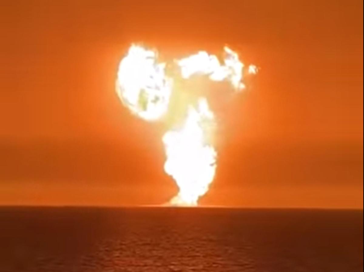 Взрыв Каспий