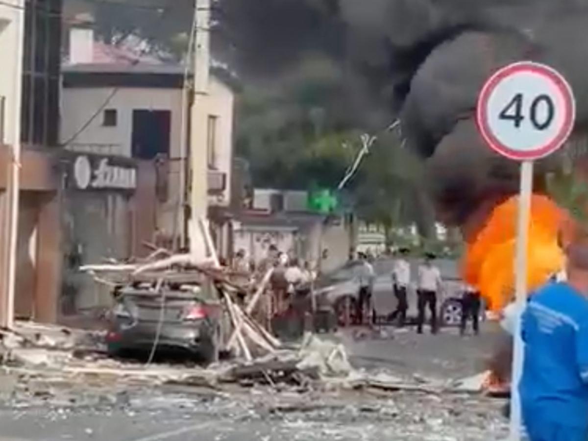 Взрыв в Геленджике