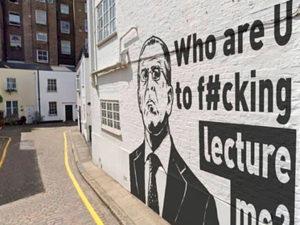 Захарова о граффити с Лавровым