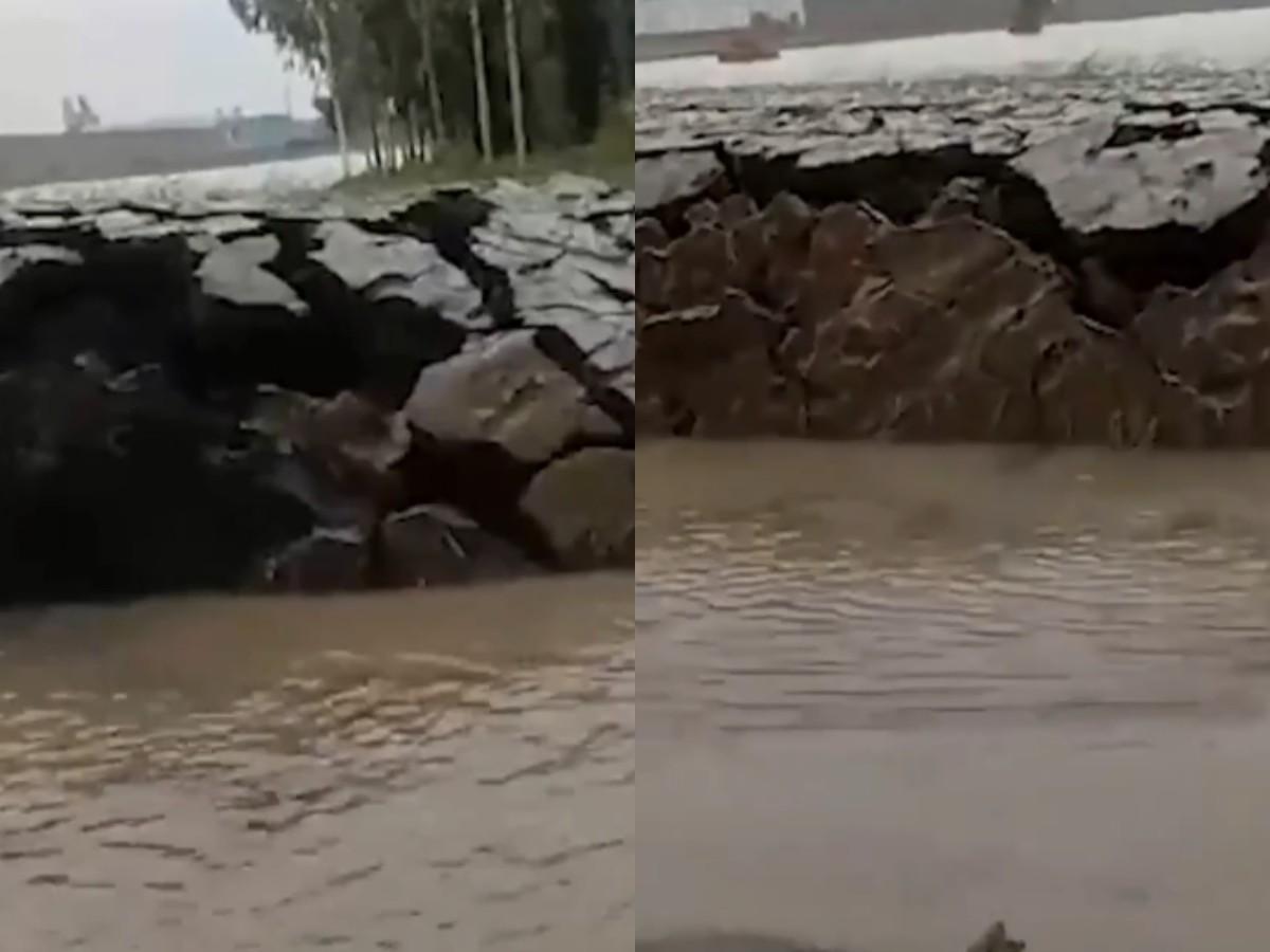 Видео с появившимся из воды островом собрало свыше 57 млн просмотров