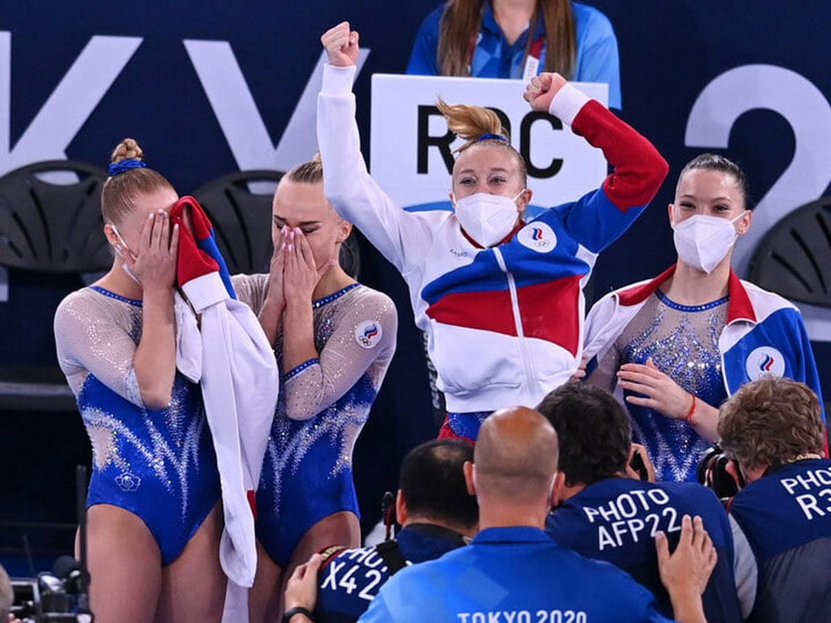 гимнастки РФ на Олимпиаде 2021