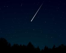 Огромный метеорит взорвался в небе над Норвегией