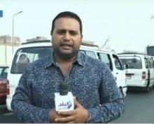 Репортера во время репортажа о сложной ситуации на дороге сбил скутер