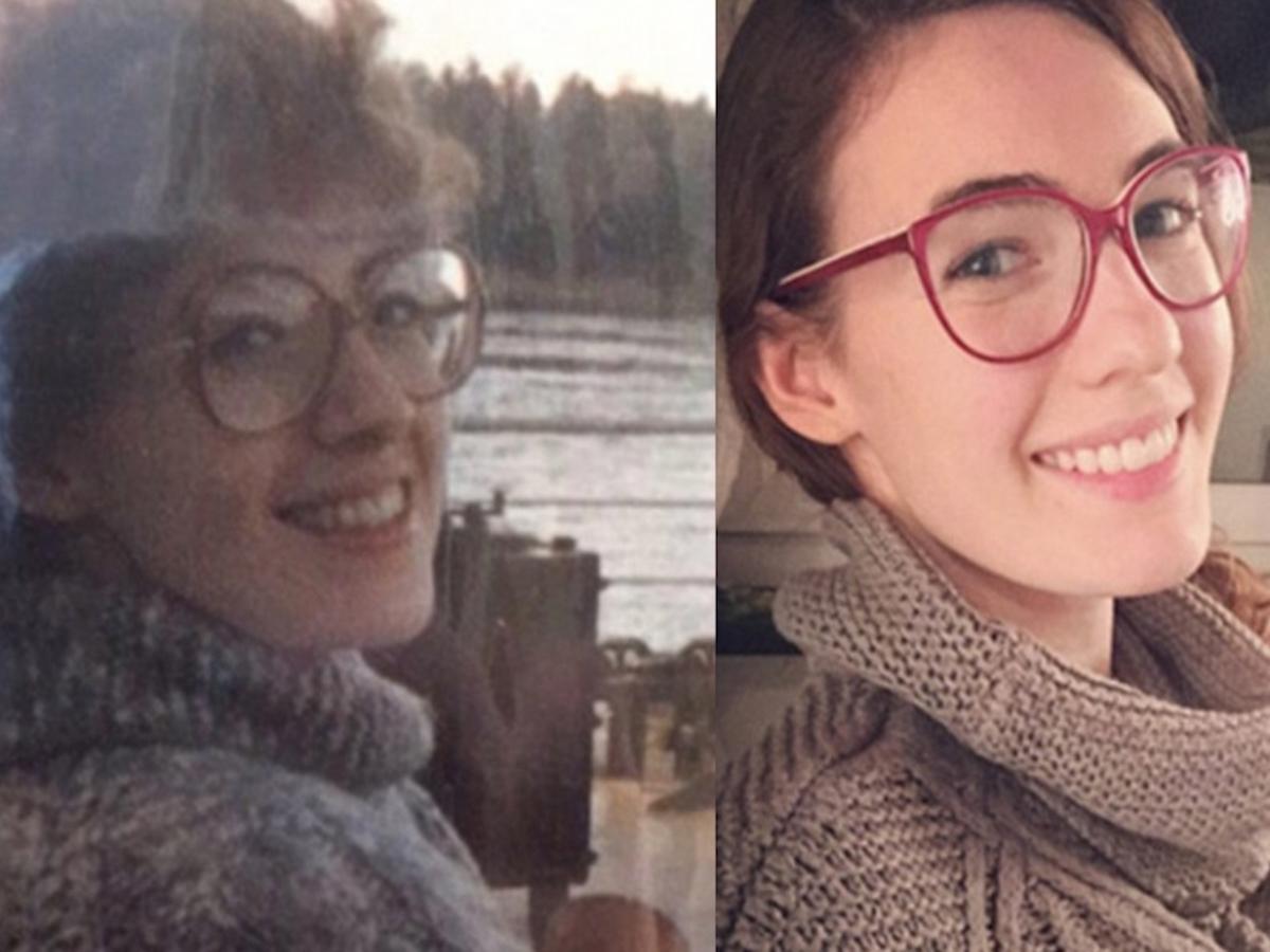 Дети, которые выглядят, как точная копия своих родителей