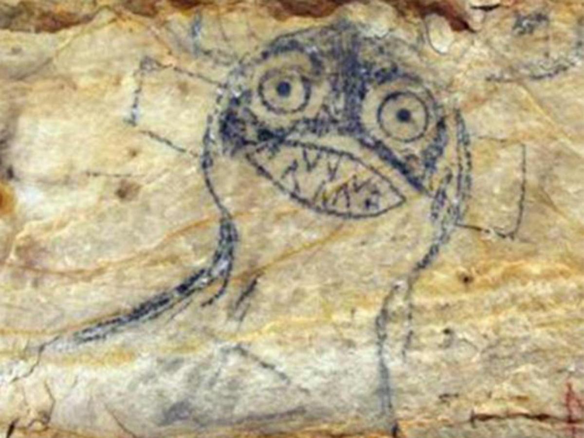 В США выставлена на торги пещера с древними наскальными рисунками индейцев