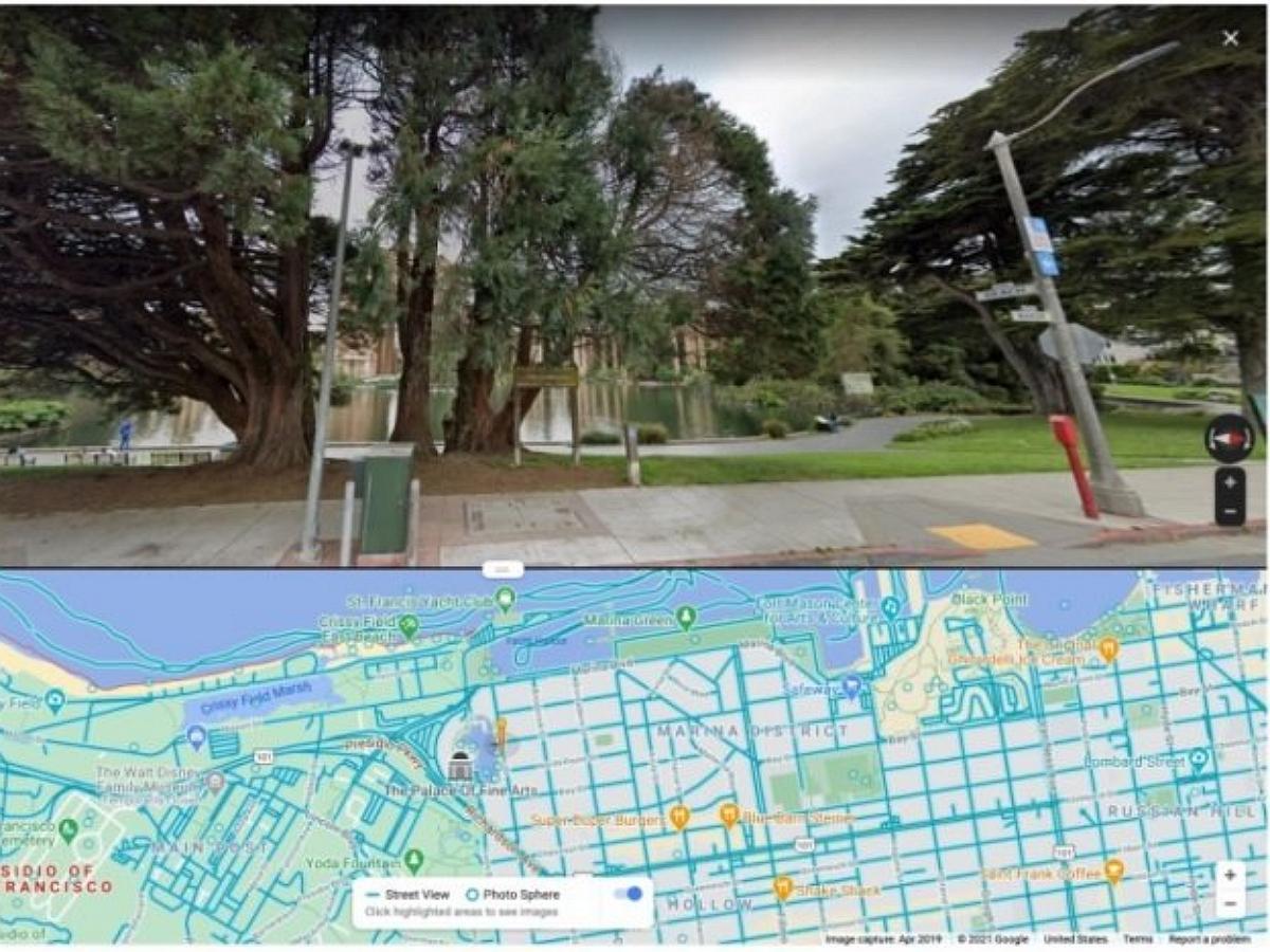 Пользователи Google карт обнаружили фото 18+ вместо панорамы озера Лох-Несс