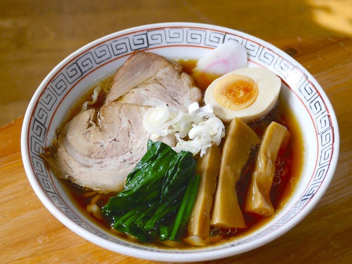 В Японии грузовики ездят на супе рамен