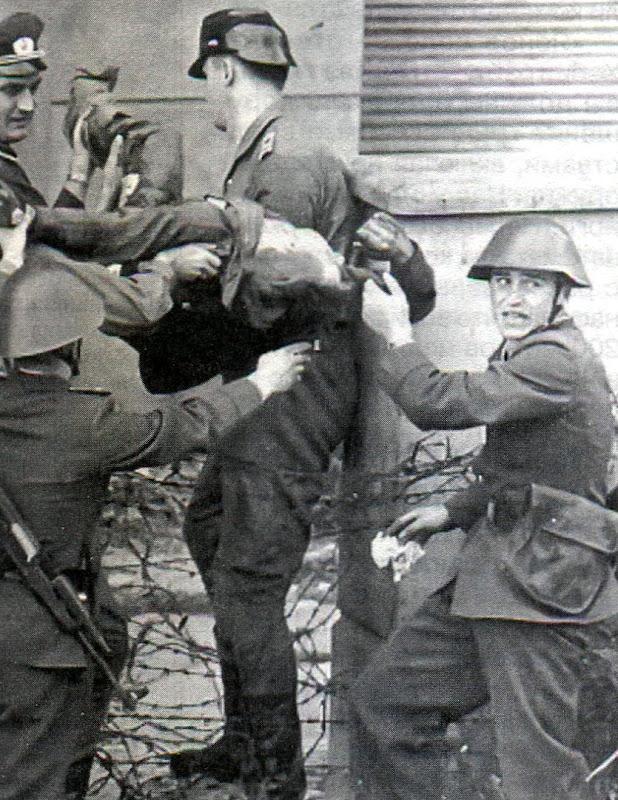 Самые необычные побеги через Берлинскую стену