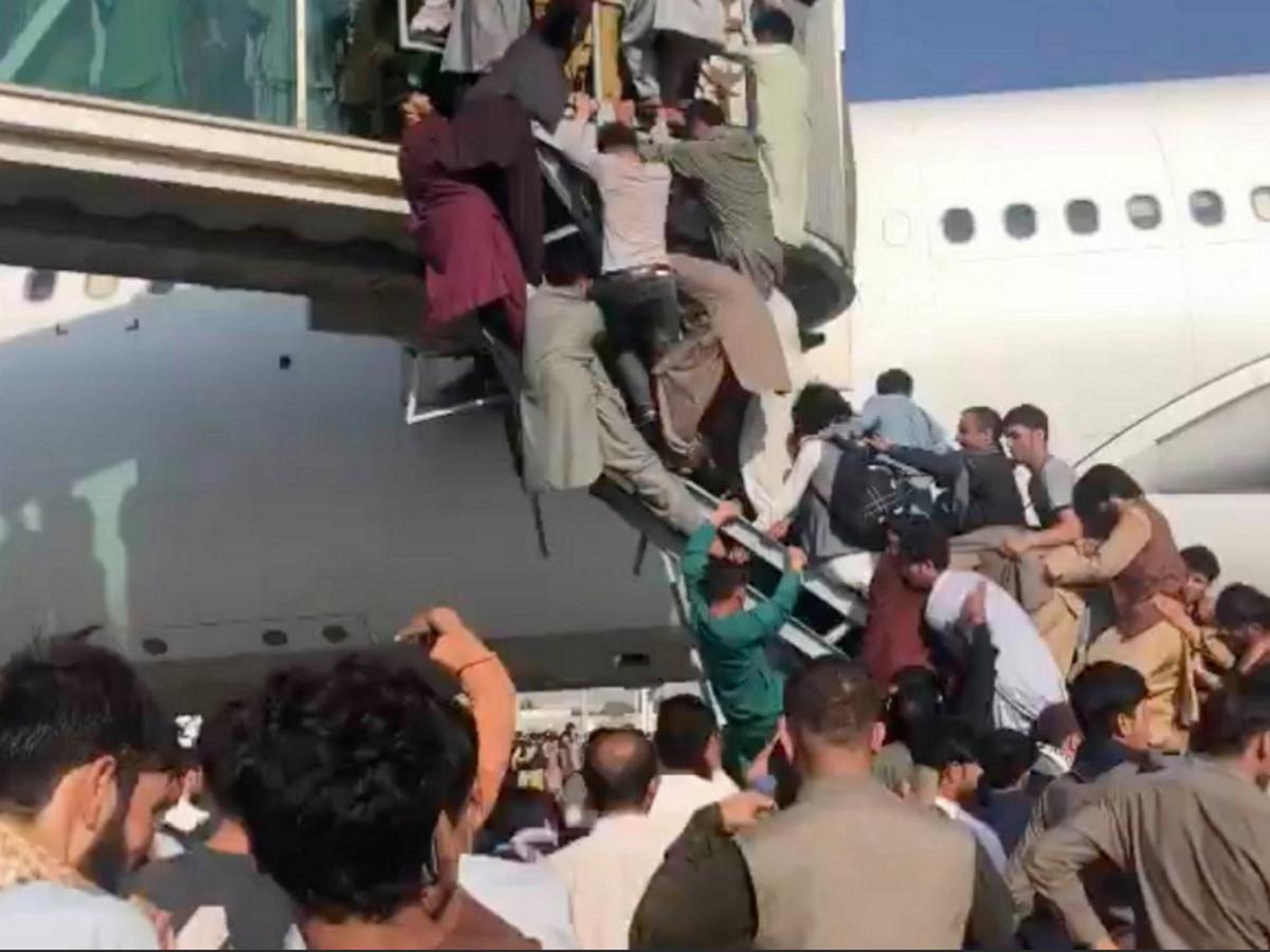 Штурм самолета в Кабуле