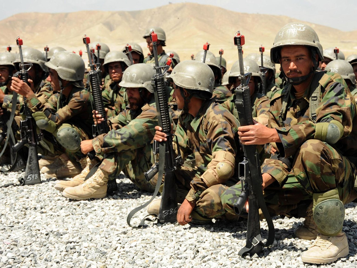Армия Афганистан