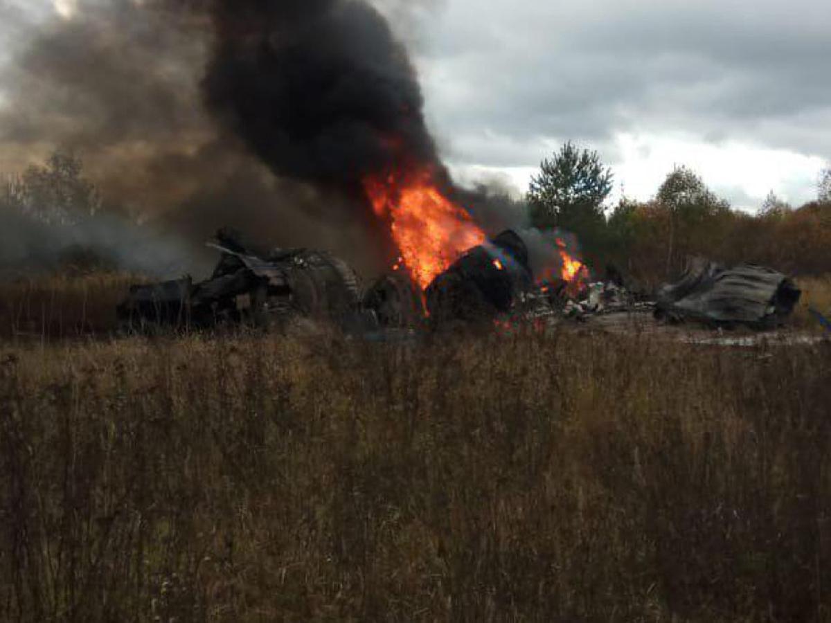 Астрахань разбился МиГ-29