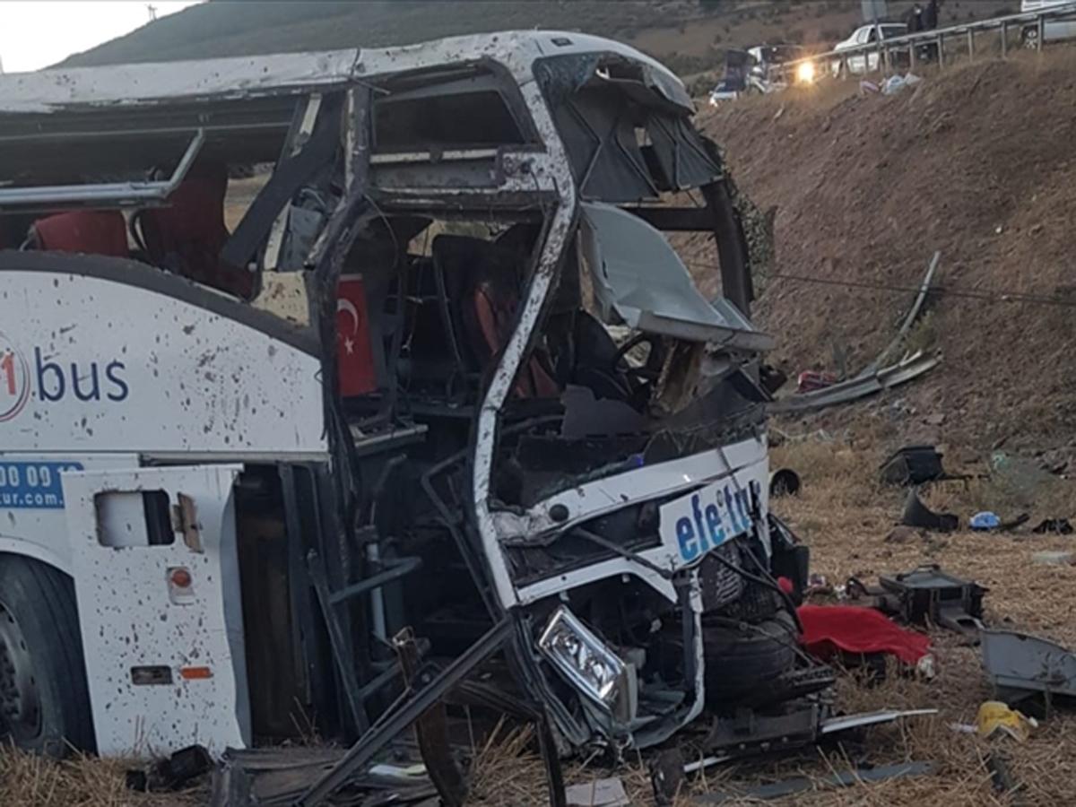 Автобус Турция 14 погибли 18 ранены