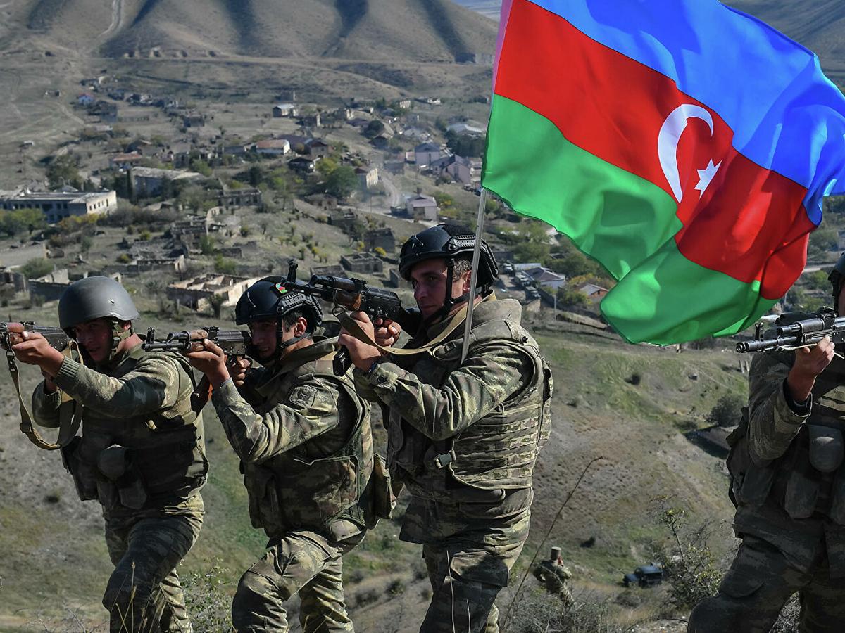 Азербайджан захват Сюникской области