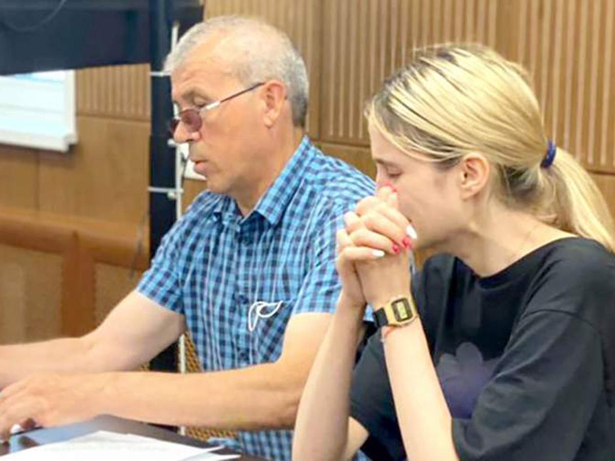 Башкирова истерика в суде