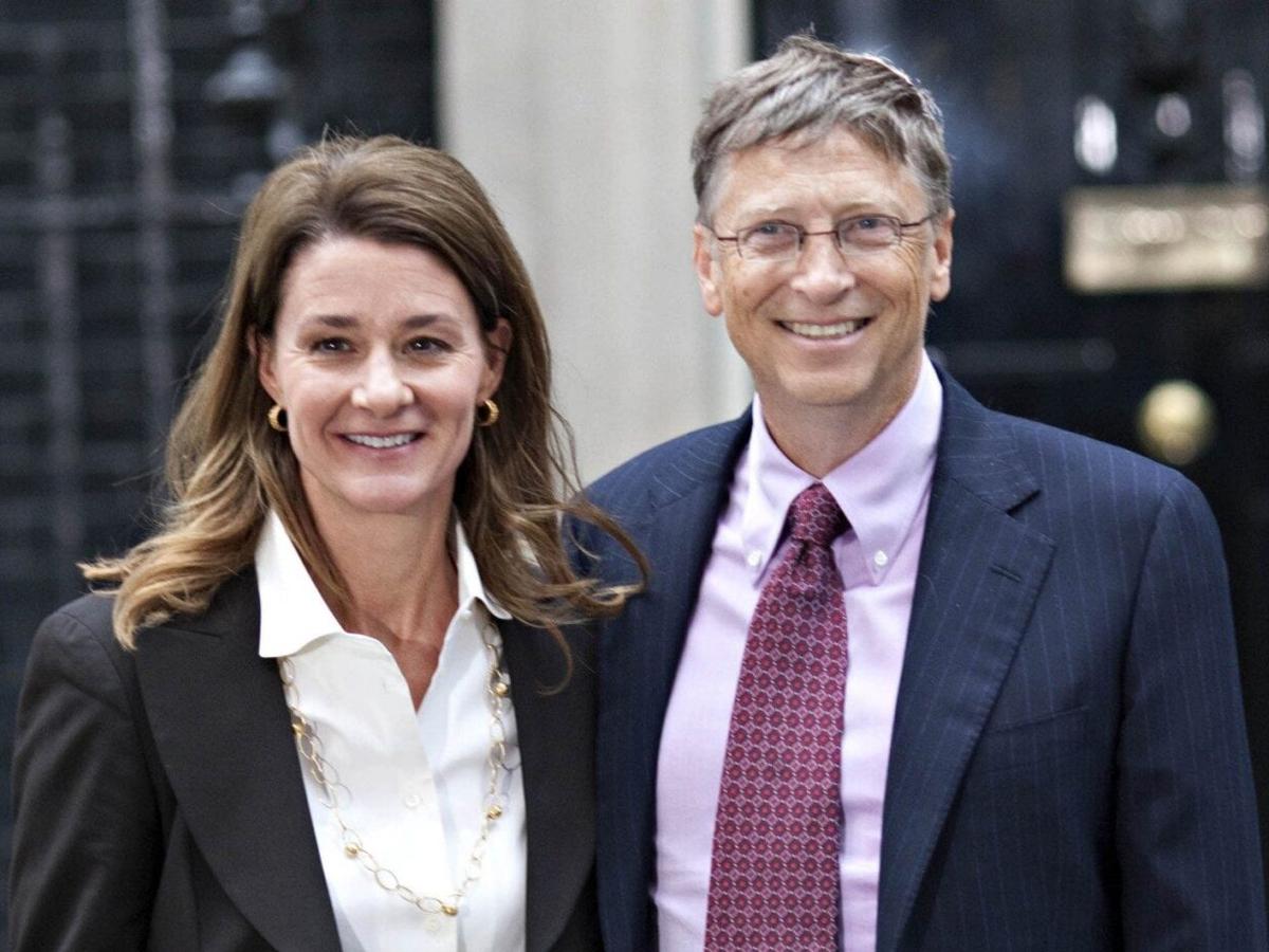Гейтс развелся с женой