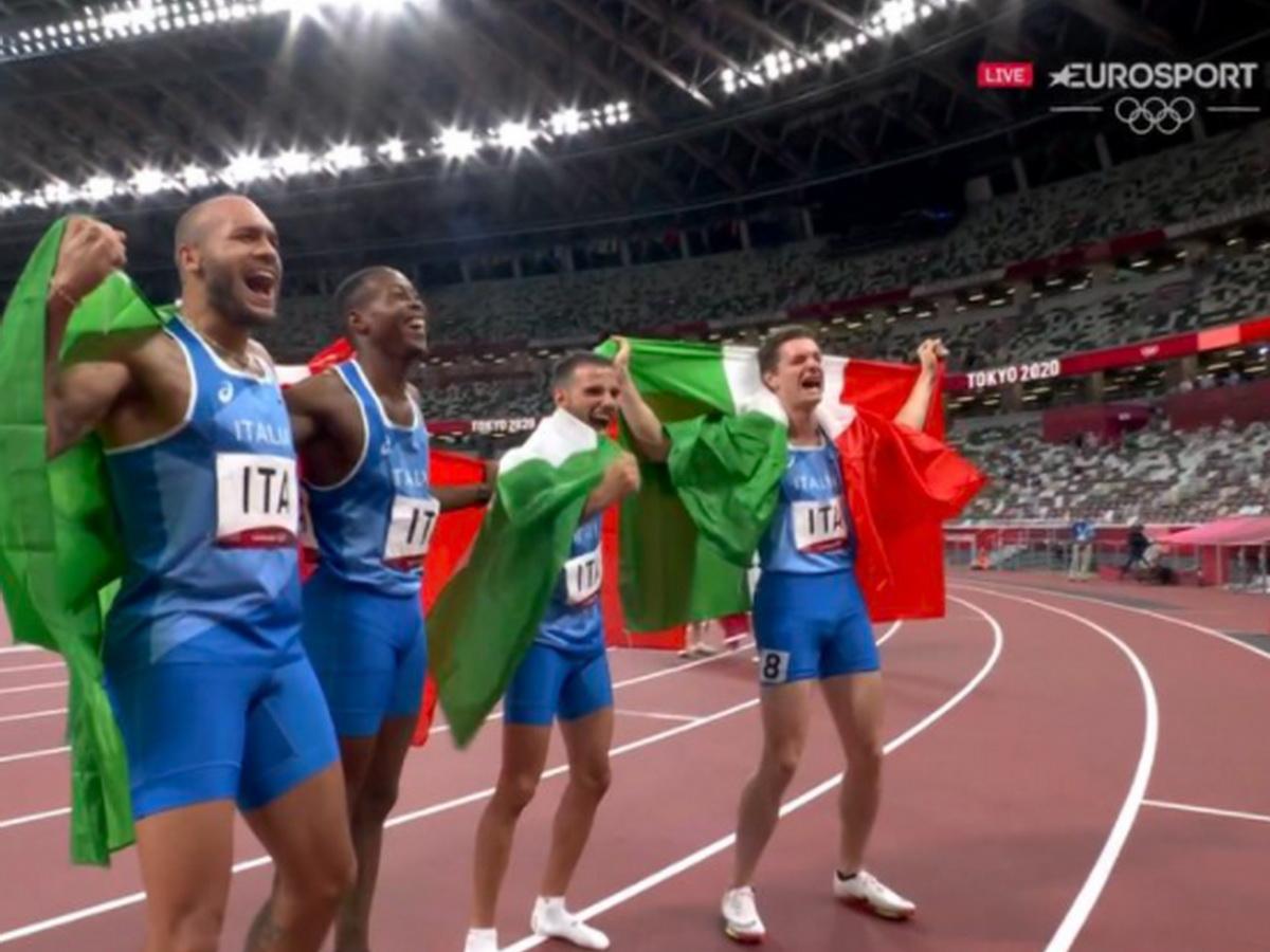 Италия победила в эстафете 4х100