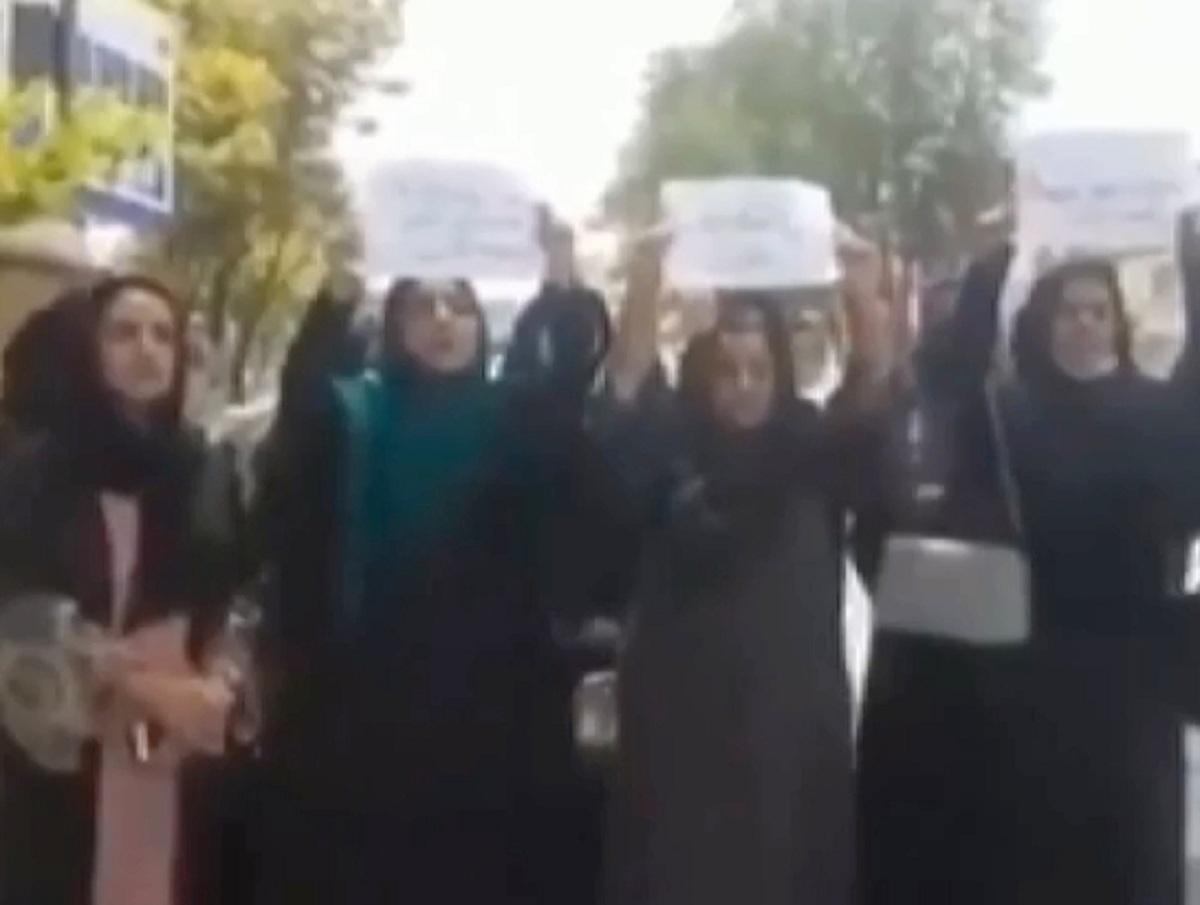 «Бесстрашные»: видео с забастовкой женщин в Афганистане восхитило Сеть