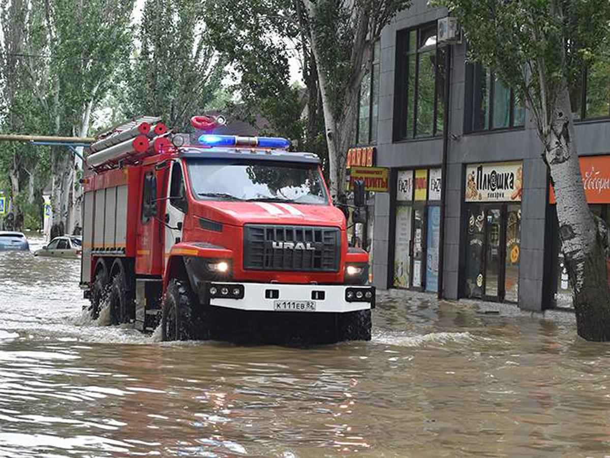 Керчь новое наводнение