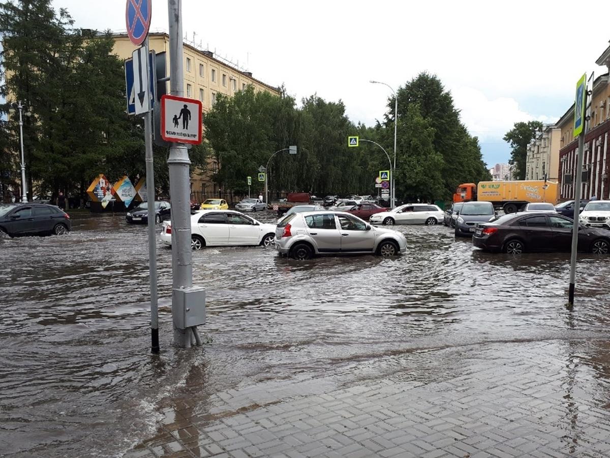 Ливень Кемерово