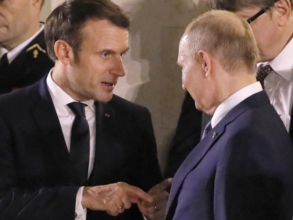 Макрон разговор Путин о Навальном