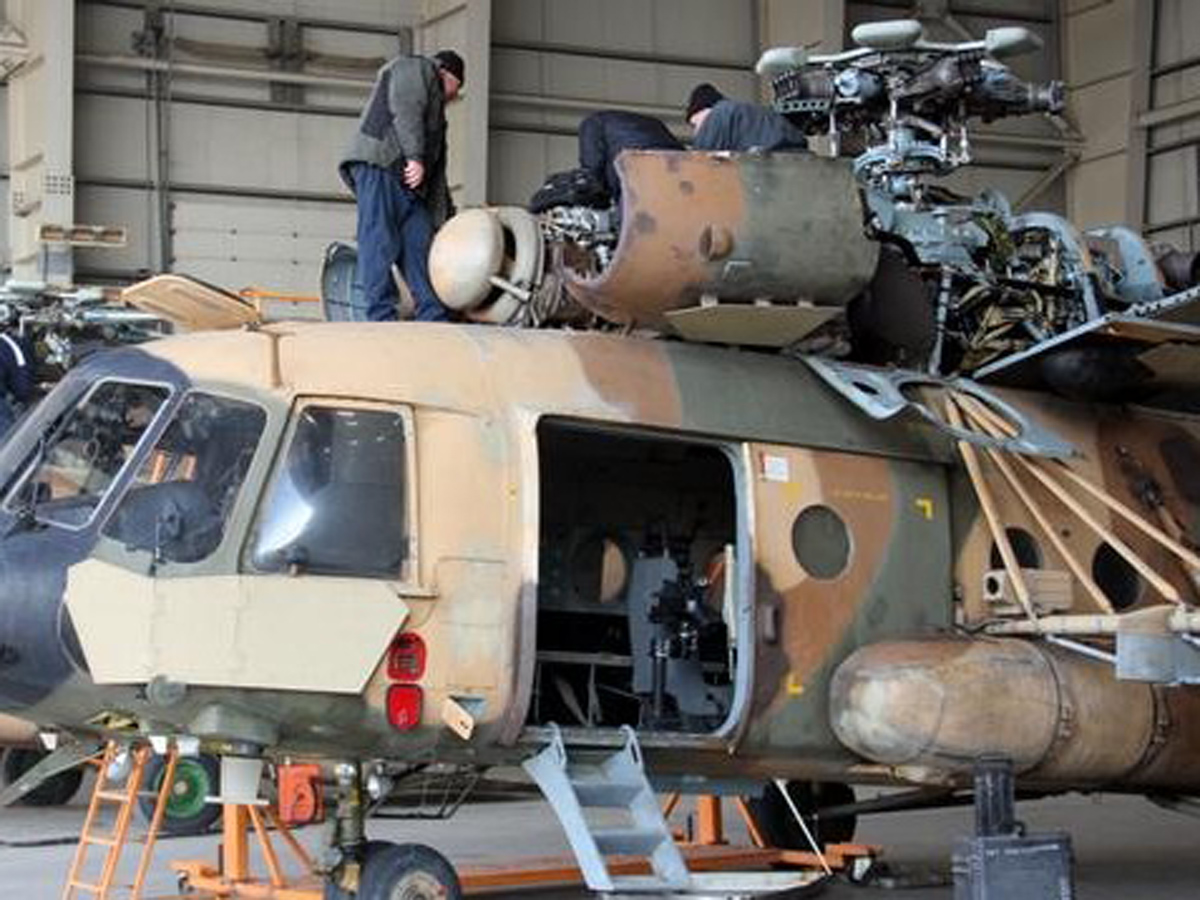 Ми-17 талибы российские самолеты