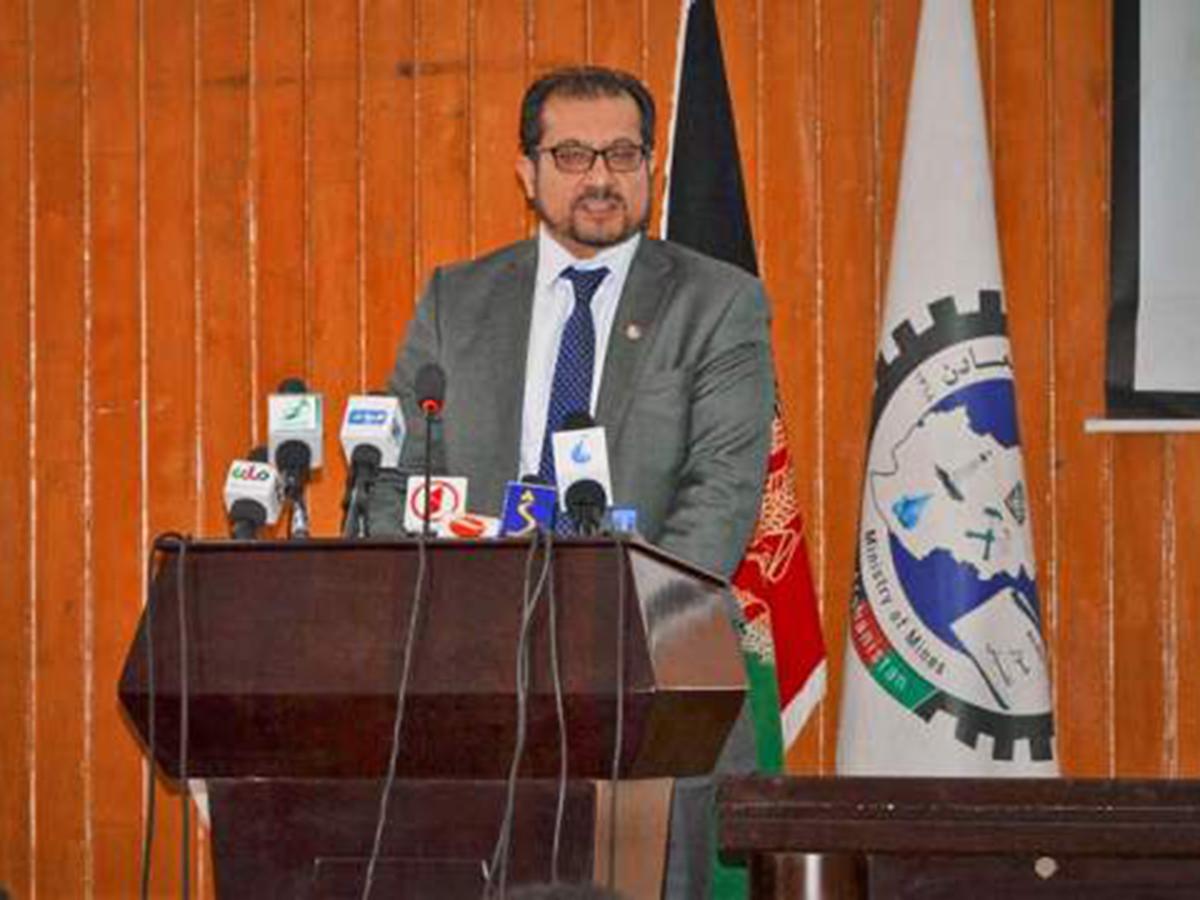 Министр Афганистана