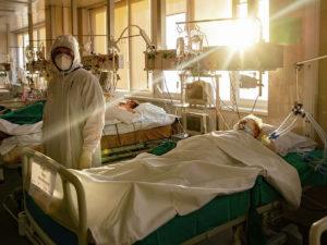 Минздрав 98% больных не привились
