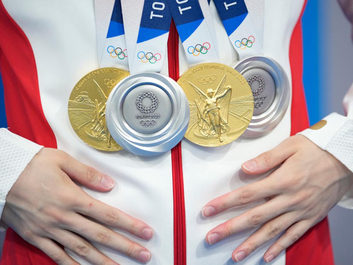 Россия установила рекорд по медалям в первую неделю Олимпиады