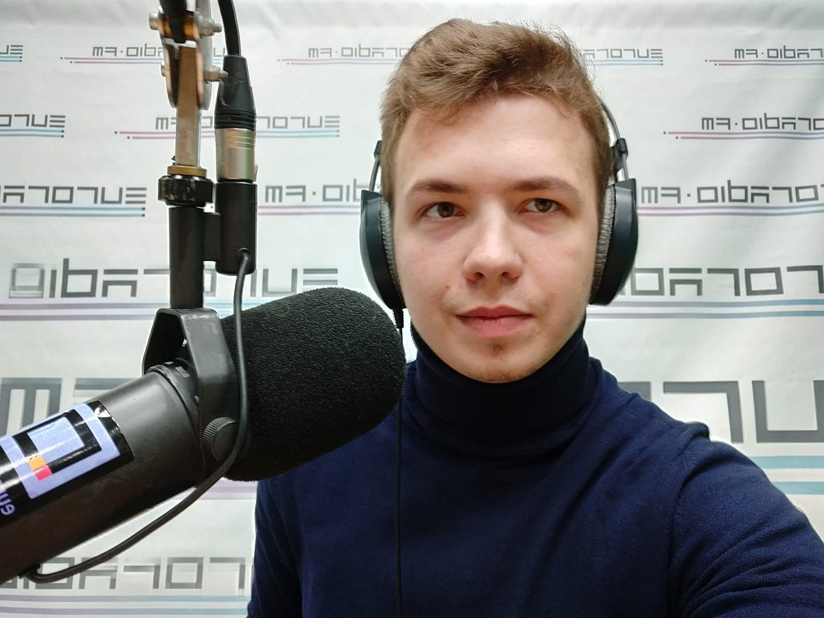 Протасевич объявил о запуске нового медиа SPRAVA