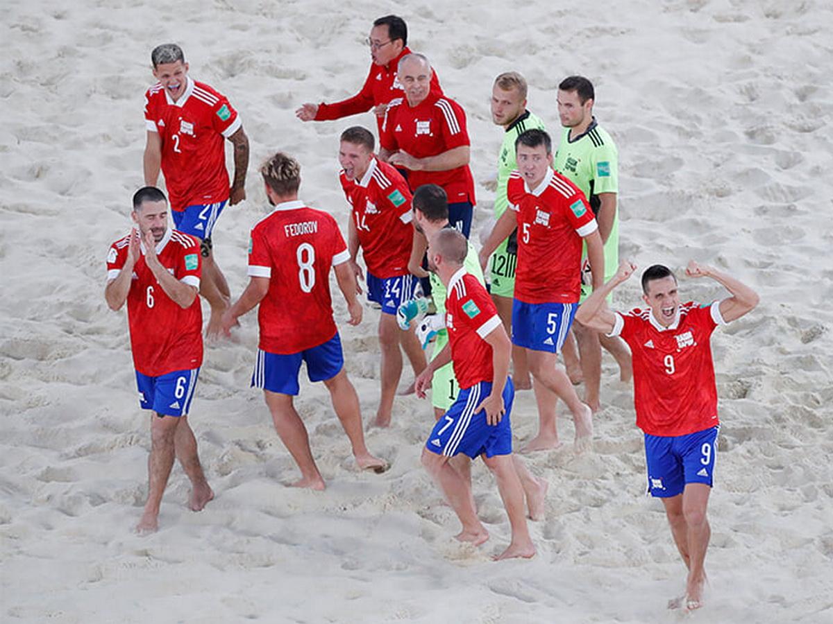 Сборная России по пляжному футболу стала чемпионом мира