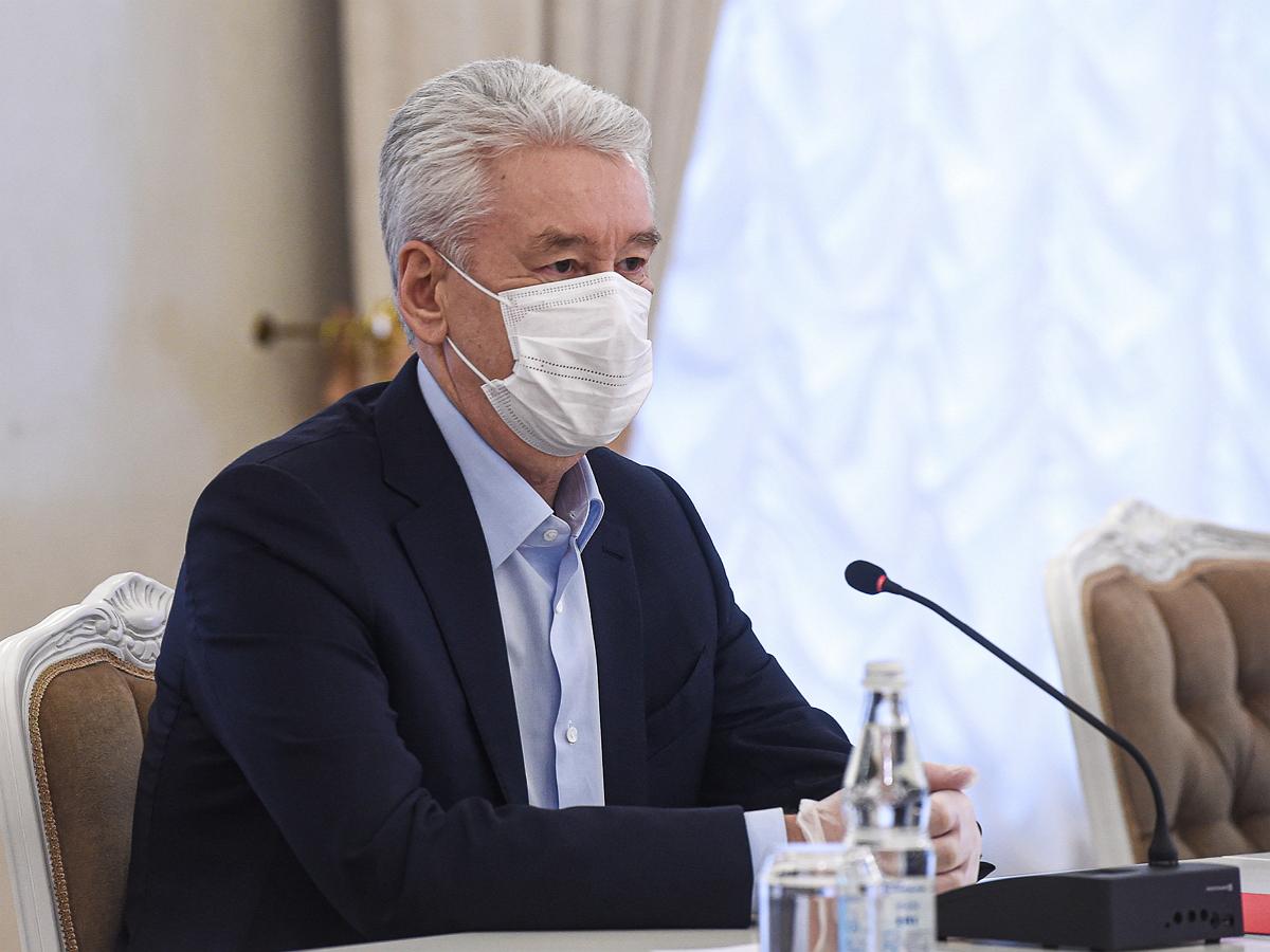 Собянин оценил ситуацию с COVID-19 в Москве