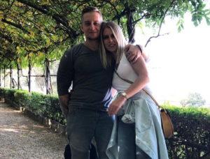 Любовь Соболь с мужем