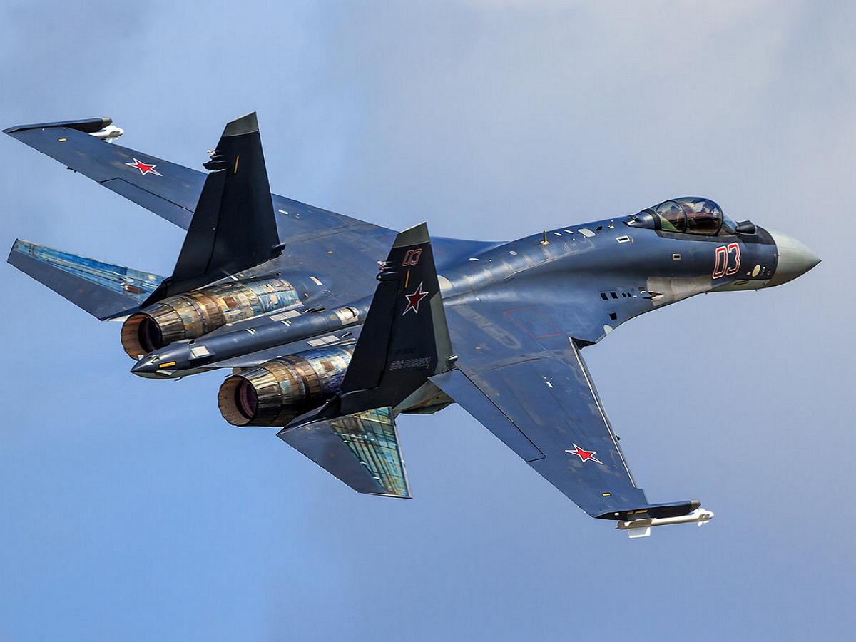 Истребитель Су-35 упал в Охотское море - названа причина