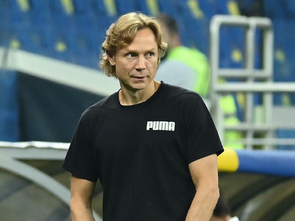 Валерий Карпин тренер сборной РФ