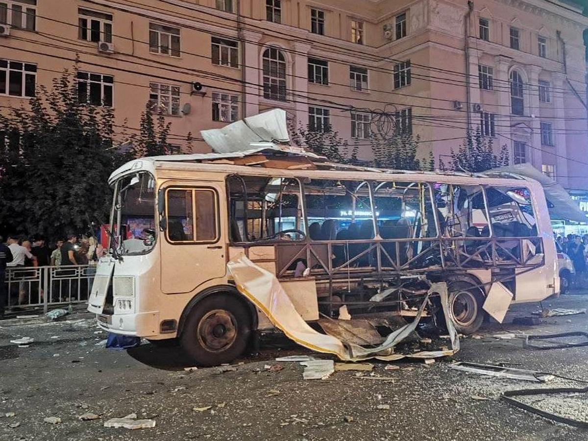 В Воронеже взорвался автобус с пассажирами: 16 пострадавших
