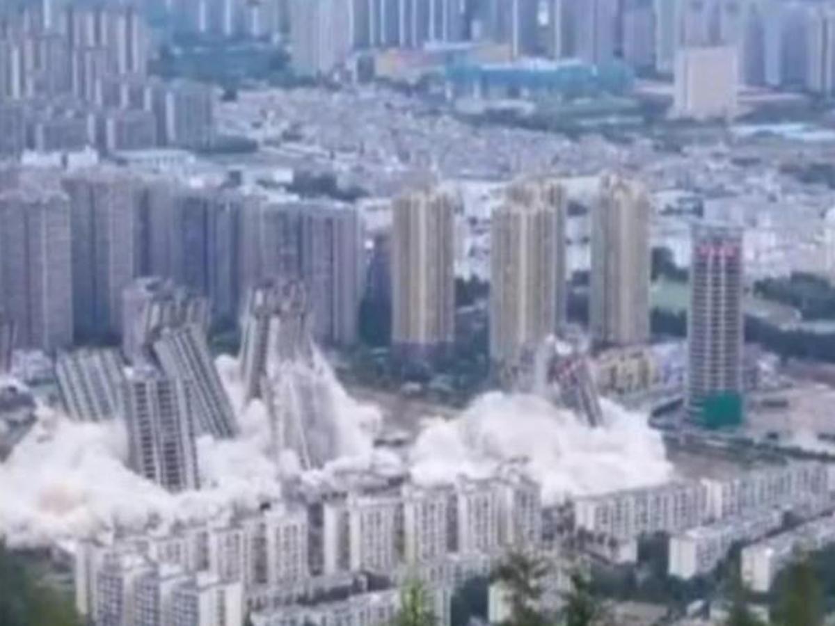 Взрыв 15высоток КНР