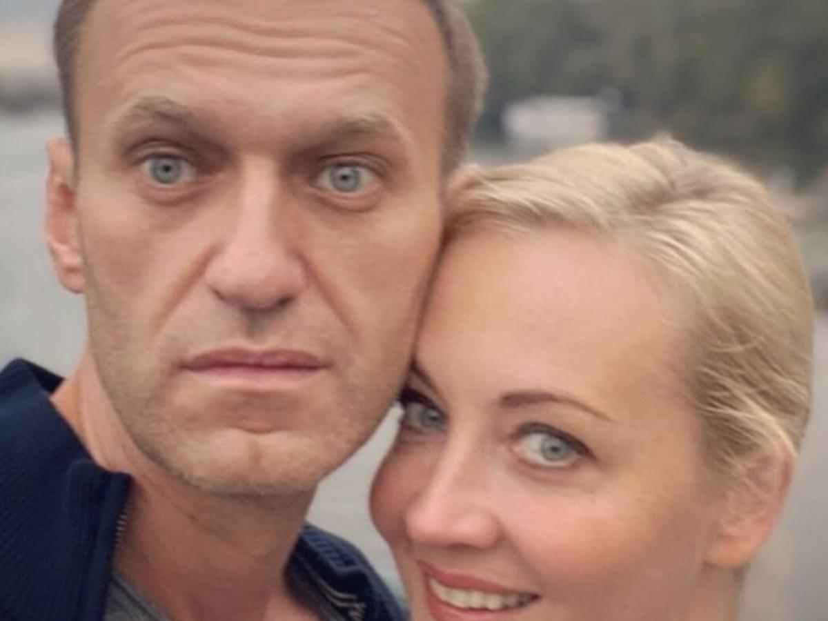 Юлия Навальная о свидании с мужем